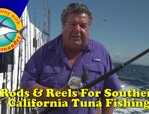 Rods & Reel For Southern California Tuna Fishing